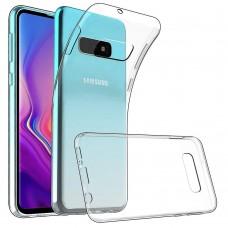 Крышка Samsung S10e (2019) Breaking (Прозрачная)