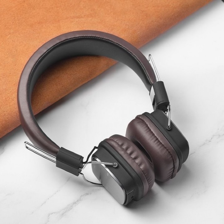 Наушники Беспроводные полноразмерные Hoco W20 Greeful Wireless