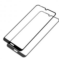 Защитное стекло Nokia 2.2 Полный экран (Черное)