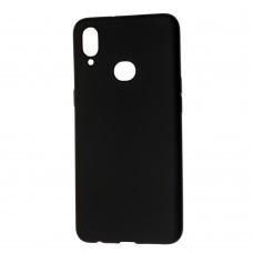 Крышка Samsung A107f (A10s) Crystal матовый (Черный)