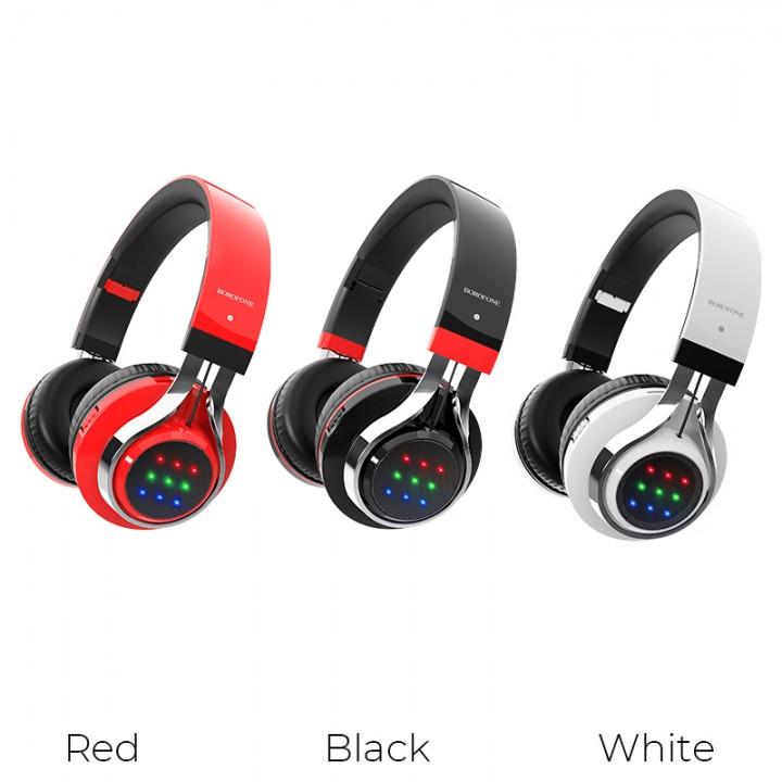 Наушники Беспроводные полноразмерные Borofone BO8 Love Song Wireless Headphones