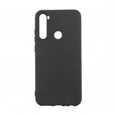 Крышка Xiaomi RedMi Note 8 Breaking Soft Touch (Черная)