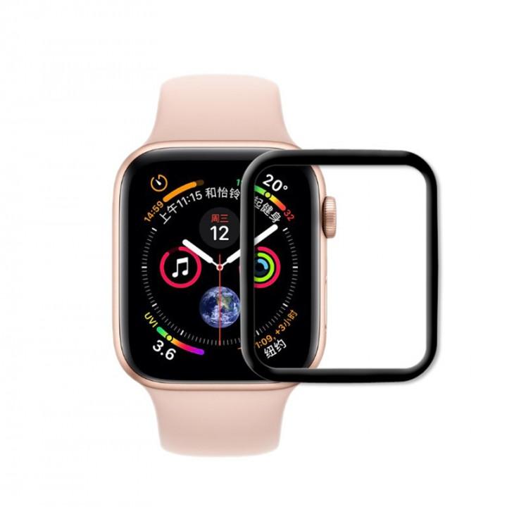 Защитное стекло Apple Watch 40mm Breaking 3D (Черное)