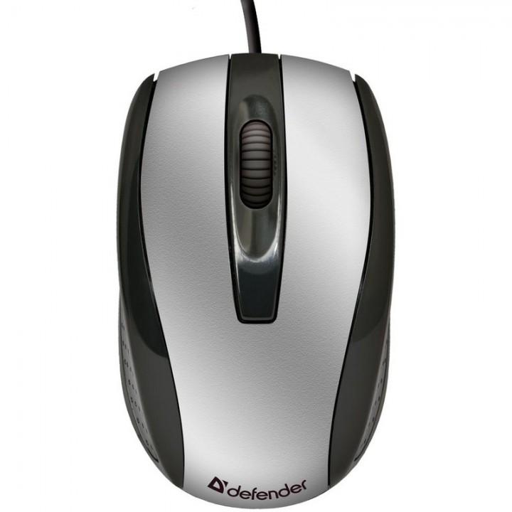 Мышь проводная Defender Optimum MS-140 800 Dpi , 3 кнопки