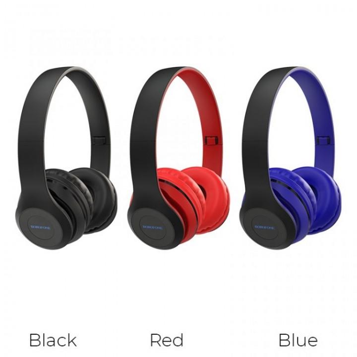 Наушники Беспроводные полноразмерные Borofone BO4 Charming Rhyme Wireless Headphones