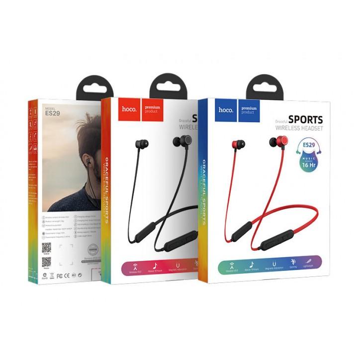 Наушники Беспроводные вставные Hoco ES29 Graceful Sports Wireless