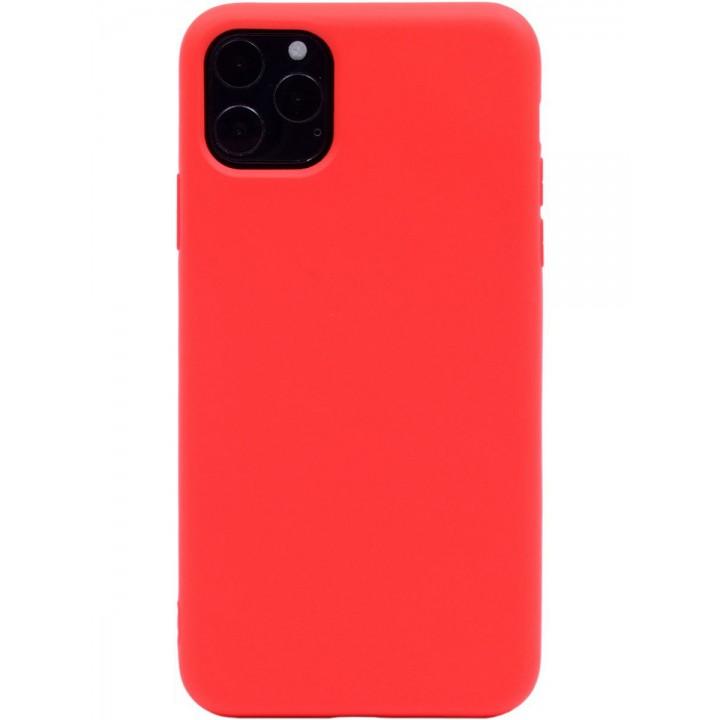 Крышка Apple iPhone X / Xs Breaking Soft Touch (Красная)