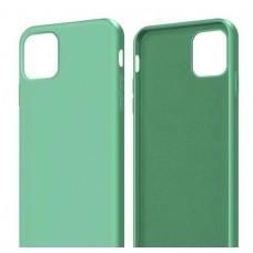 Крышка Apple iPhone X / Xs Breaking Soft Touch (Зеленая)