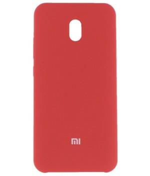 Крышка XiaoMi RedMi 8A Silicon Cover (Красный)