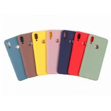 Крышка Samsung S20 Plus Crystal Soft Touch