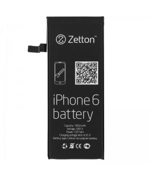 Аккумулятор Apple iPhone 6 (1850 mAh) Zetton