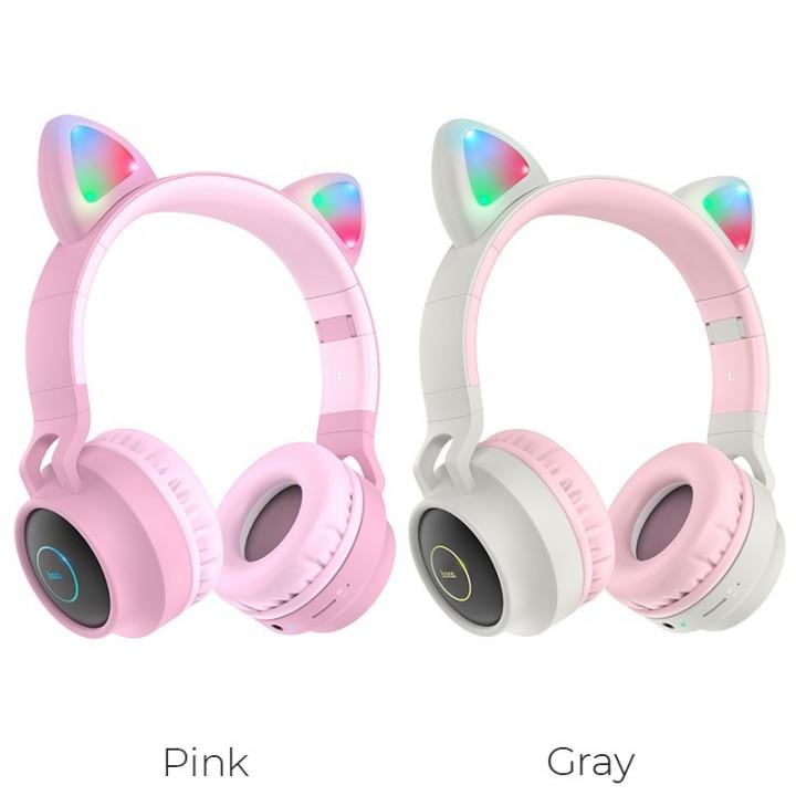 Наушники Беспроводные полноразмерные Hoco W27 Cat Ear Wireless