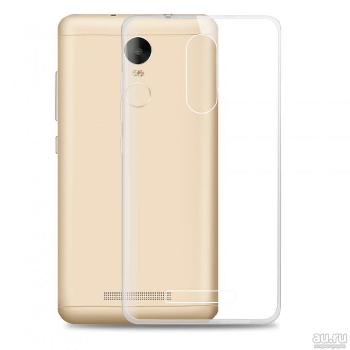 Крышка Xiaomi RedMi 4X Силикон Paik Thin (Прозрачная)