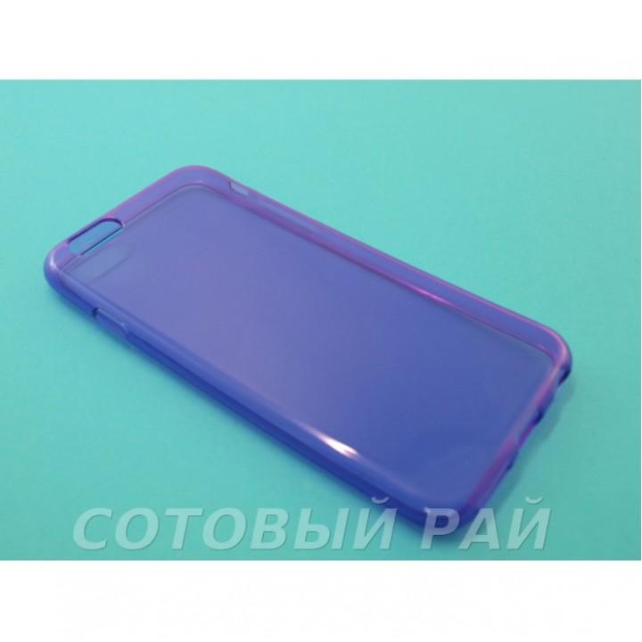 Крышка Apple iPhone 6 Plus Силикон Just Slim (Фиолетовая)