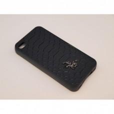 Крышка Samsung G935f (S7 Edge) Кожа Крокодил (Черный)