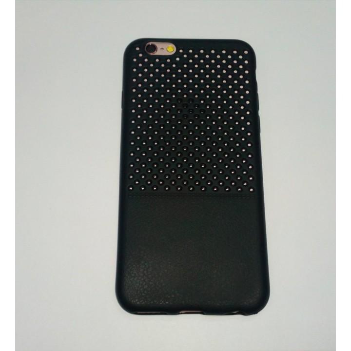 Крышка Apple iPhone 6 / 6s Кожа с перфорацией