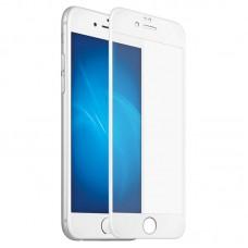 Защитное стекло Apple iPhone 6+ 5D (Белое)