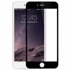 Защитное стекло Apple iPhone 6+ 5D (Черное)