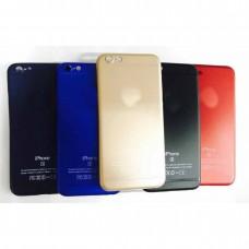 Крышка Apple iPhone X / Xs Ультратонкая с лого (Золотая)