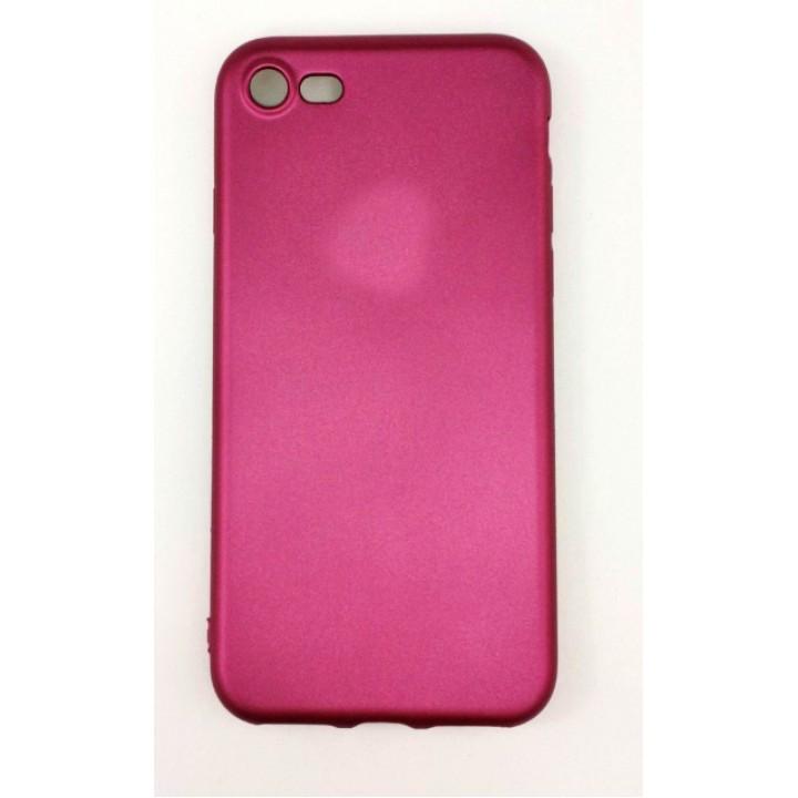 Крышка Apple iPhone 7 Brauffen Бархатная (Фиолетовая)