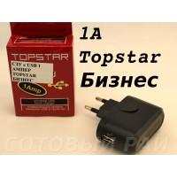 Блок питания сетевой с выходом Usb 1 Ампер Topstar Бизнес