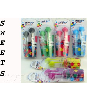 Наушники вкладыши SmartBuy Sweets