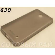 Крышка Nokia 630,635,636 Lumia Jekod силикон (Серая)