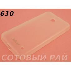 Крышка Nokia 630,635,636 Lumia Jekod силикон (Белая)
