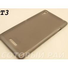 Крышка Sony Xperia T3 (D5103) Jekod силикон (Серая)