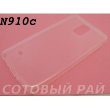 Крышка Samsung N910c (Note 4) Силикон Tpu 0,3мм (Прозрачная)