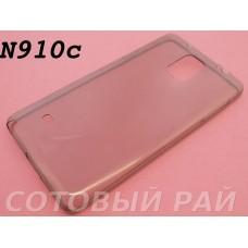 Крышка Samsung N910c (Note 4) Силикон Tpu 0,3мм (Черная)