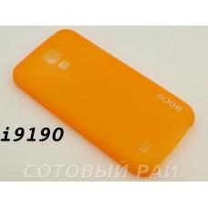 Крышка Samsung i9190 (S4 Mini) Hoco Thin (Оранжевая)