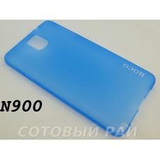 Крышка Samsung N9000/N9005 (Note 3) Hoco Thin (ГолуБая)