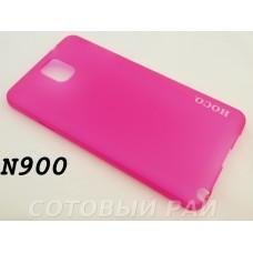 Крышка Samsung N9000/N9005 (Note 3) Hoco Thin (Красная)