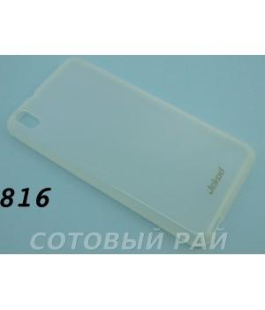 Крышка HTC Desire 816 Jekod силикон (Белая)