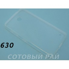 Крышка Nokia 630,635,636 Lumia Tpu силикон 0,3mm (Прозрачная)