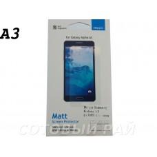 Защитная пленка Samsung A300f (A3) Deppa Матовая