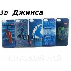 Крышка Apple iPhone 6 / 6s 3D Джинса