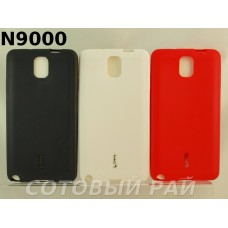 Крышка Samsung N9000/N9005 (Note 3) Силикон Cherry (с пленкой)