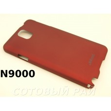 Крышка Samsung N9000/N9005 (Note 3) Jekod пластик (Красная)
