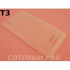 Крышка Sony Xperia T3 (D5103) Jekod силикон (Белая)