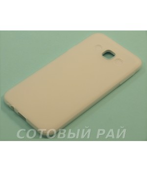 Крышка Samsung E5 (E500h) Силикон Paik (Белая)