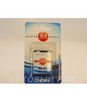 Аккумулятор Nokia BL-4S 3500s , 7610c , 3600s , 2680 (860mAh) MasterMobile
