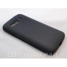 Крышка Alcatel One Touch Pop C9 7047D Just Силикон (Черная)