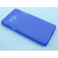 Крышка Samsung A500f (A5) Just Силикон (Фиолетовая)