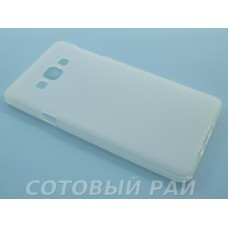 Крышка Samsung A700f (A7) Just Силикон (Белая)
