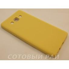 Крышка Samsung A500f (A5) Paik Силикон (Бежевая)