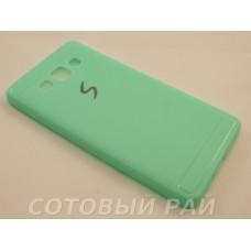 Крышка Samsung A500f (A5) Paik Силикон (ГолуБая)