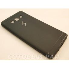 Крышка Samsung A700f (A7) Paik Силикон (Черная)