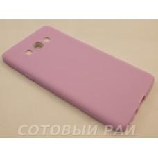 Крышка Samsung A700f (A7) Paik Силикон (Фиолетовая)